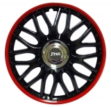 "Kryty kolies Orden Black Red 13""  1ks"