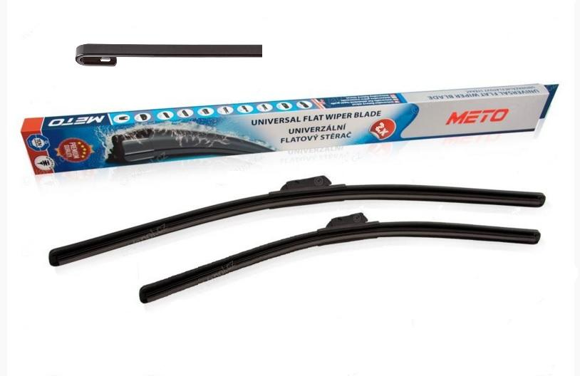 "Set Stieračov METO Flat 21""/530mm + 19""/480mm - 2ks"
