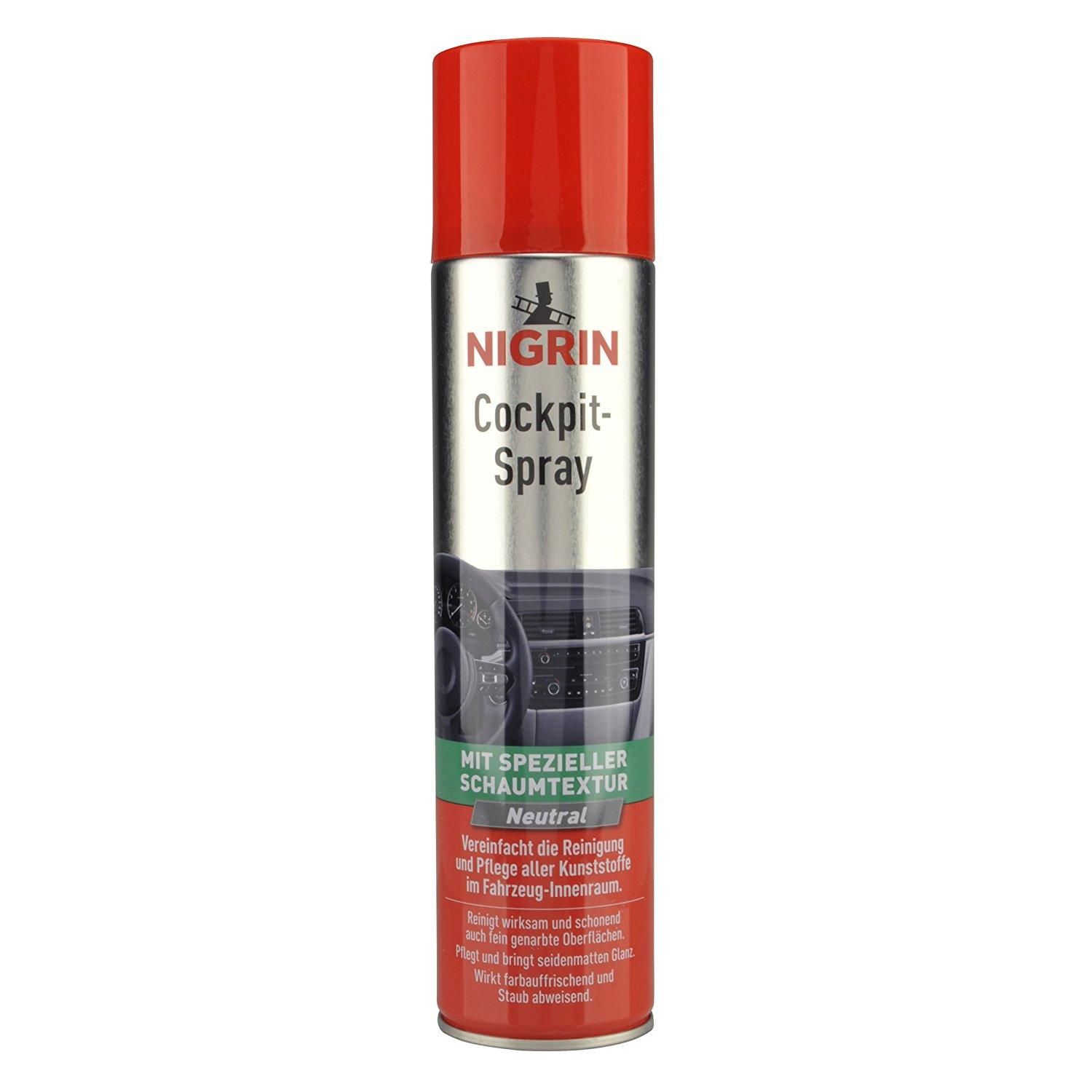 NIGRIN Cockpit spray neutral 400 ml.