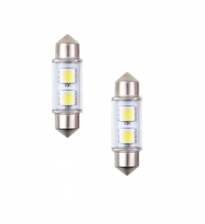 Led žiarovka C5W  39mm 12V   2ks