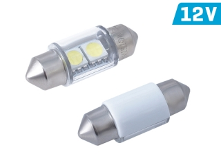 Led žiarovka C5W  31mm 12V   2ks