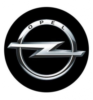 3D CAR LOGO OPEL