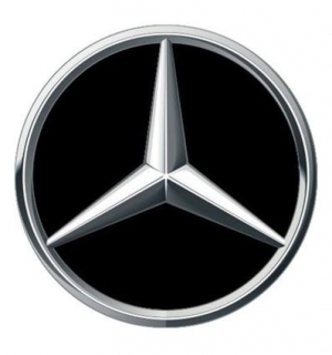 3D CAR LOGO MERCEDES