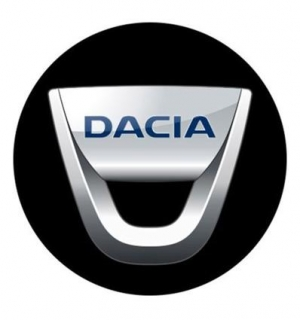 3D CAR LOGO DACIA