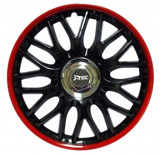 "Kryty kolies Orden Black Red 14""  1ks"